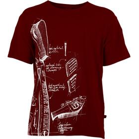 E9 Preserve Miehet Lyhythihainen paita , punainen